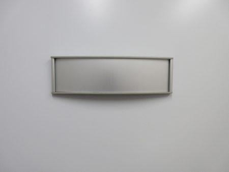 VSC8.5-2.25P Office Nameplate Sign - Blank