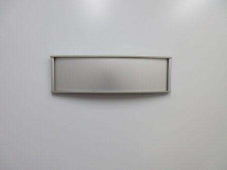 VSC8.5-2.25P Office Name Plate Sign - Blank