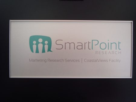 VSF150 Door Sign with sample printed messaged insert Smart Point