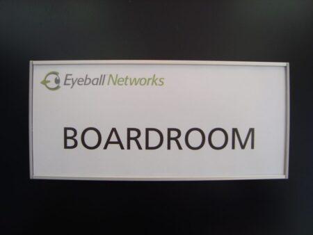 VSF100-8.5L Flat Large Name plate Eyeball sample