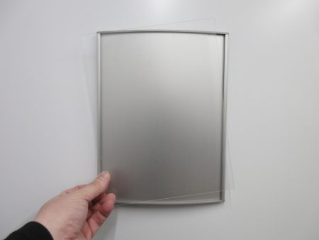 VS8.5-11ELE Clear Lexan Replacement Cover Only 1
