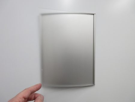VS8.5-11ELE Clear Lexan Replacement Cover Only 2