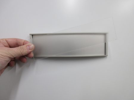 VS8.5-2.25P Clear Lexan Replacement Cover Only 1