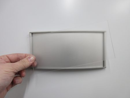 VS8.5-4P Clear Lexan Replacement Cover Only 1