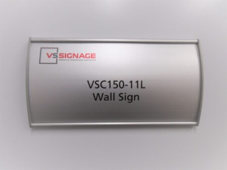 VSC150-11L Wall Sign - Curved