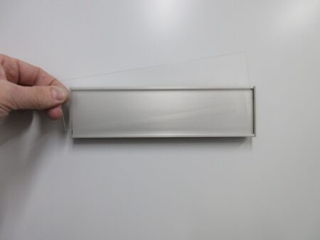 VSF60-8.5L Clear Lexan Replacement Cover Only 1